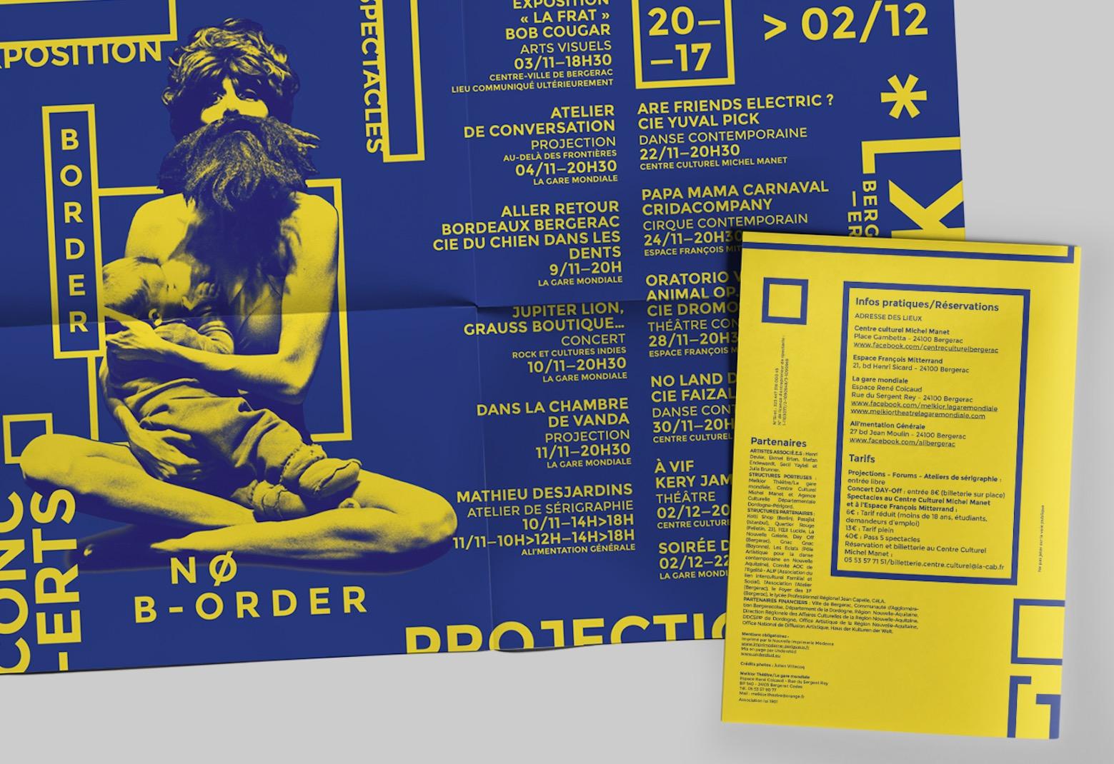 La Gare Mondiale Melkior Théâtre poster communication Understüd