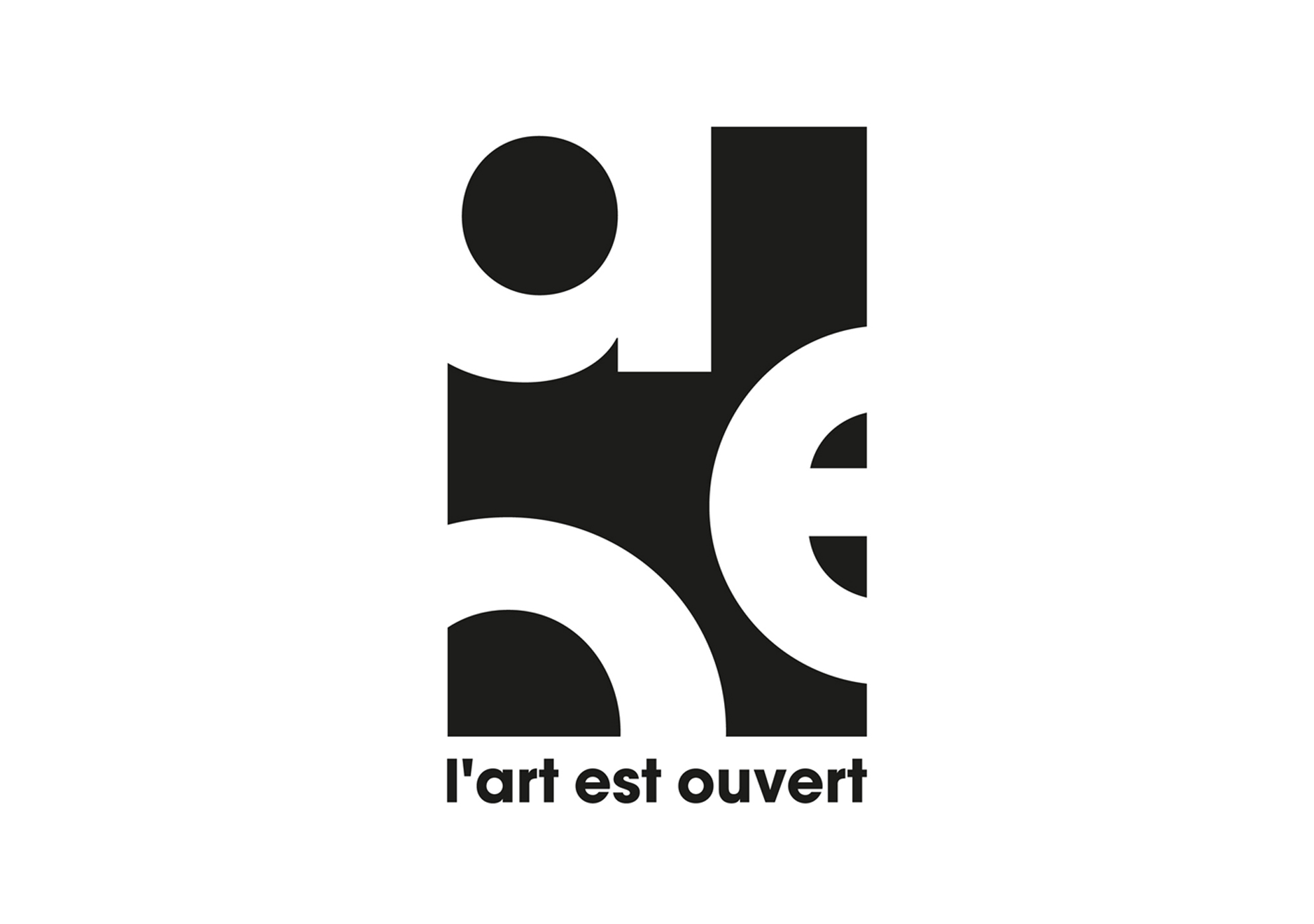 logo l'art est ouvert dordogne